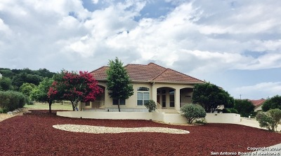 Boerne Single Family Home For Sale: 410 Wild Turkey Blvd