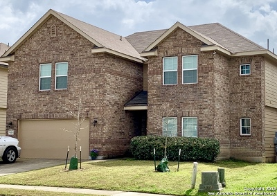 Converse Single Family Home For Sale: 9618 Common Law
