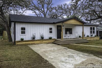 Boerne Single Family Home For Sale: 136 Phil Wilson St