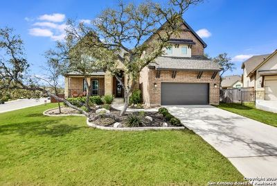 San Antonio Single Family Home New: 3635 Belle Strait