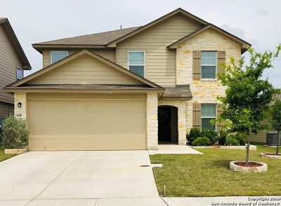 Boerne Single Family Home Price Change: 168 Jolie Circle