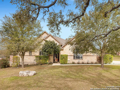 Helotes Single Family Home Active Option: 11527 Viridian Pl