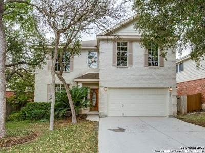 Schertz Single Family Home Active Option: 3473 Rock Hill View