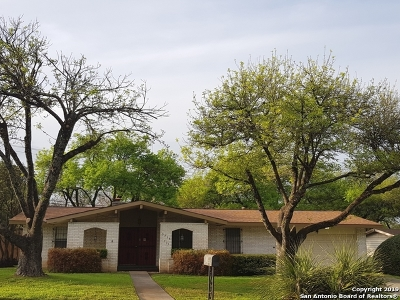 San Antonio Single Family Home For Sale: 3715 Minthill Dr