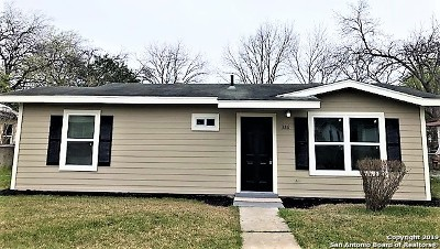 San Antonio Single Family Home For Sale: 326 Sterling Dr
