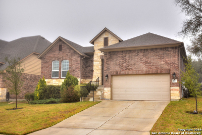 Helotes Single Family Home Active Option: 10323 Salamanca