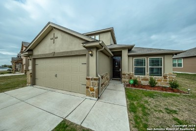 Converse Single Family Home For Sale: 10126 Macarthur Way