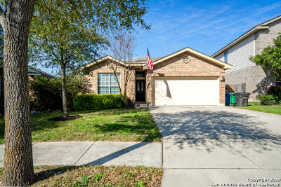 Helotes Single Family Home Active Option: 13607 Topaz Lk