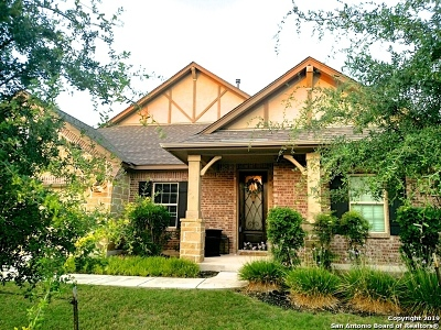 Boerne Single Family Home New: 29018 Voges Ave