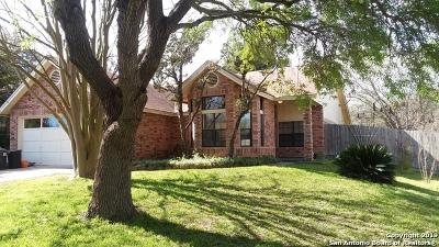 Converse Single Family Home Active Option: 9816 Logans Ridge Dr