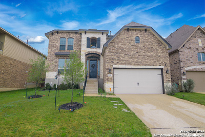Heights At Stone Oak Single Family Home For Sale: 23526 Enchanted Bend