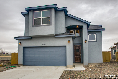 Converse Single Family Home New: 8655 Key North Way
