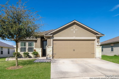 Converse Single Family Home New: 7635 Cold Mtn