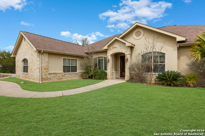 Boerne Single Family Home New: 129 Morning Circle