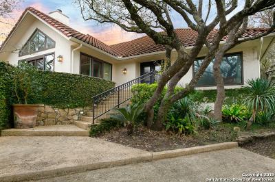 San Antonio Single Family Home For Sale: 9 Devon Wood