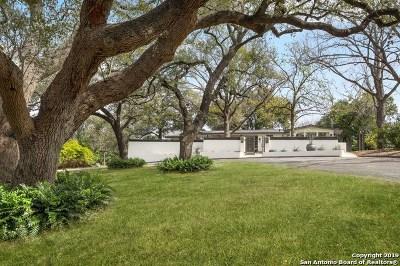 San Antonio Single Family Home Active Option: 2254 Nacogdoches Road