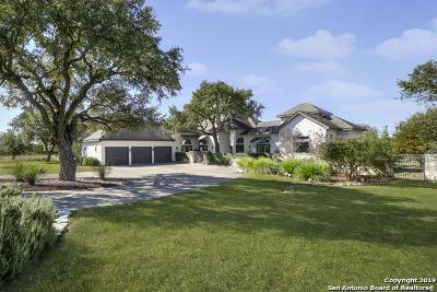 Fair Oaks Ranch Single Family Home Active Option: 30805 Ovaro Circle