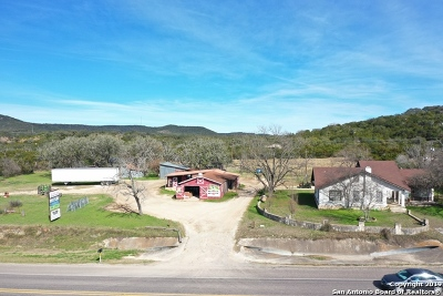 Bandera County Single Family Home For Sale: 8141 & 8161 State Highway 16 S