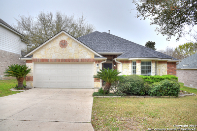 Helotes Single Family Home Active Option: 13030 Wild Heart