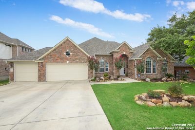 Helotes Single Family Home Active Option: 13211 Spring Run