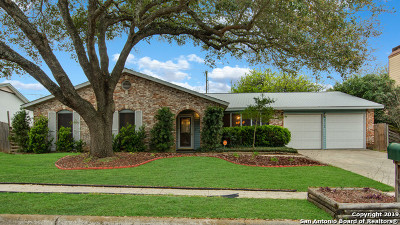 Converse Single Family Home Back on Market: 8126 Pioneer Hills St