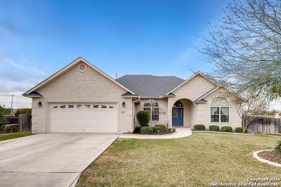 New Braunfels Single Family Home Active Option: 1136 Cherry Hill
