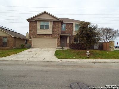 Converse Single Family Home For Sale: 7723 Redstone Manor