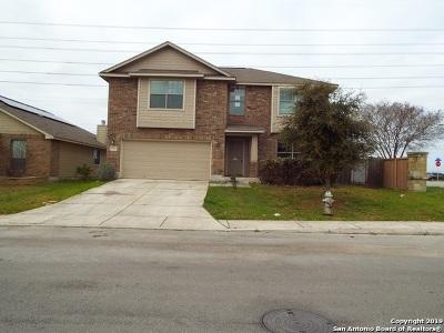 Converse Single Family Home New: 7723 Redstone Manor