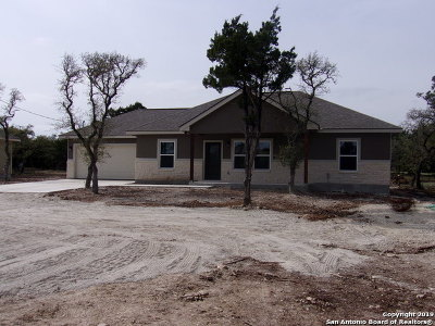 Canyon Lake Single Family Home New: 1831 Fm3424