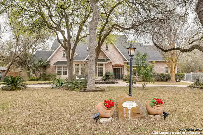Helotes Single Family Home Active Option: 10918 Hollow Ridge