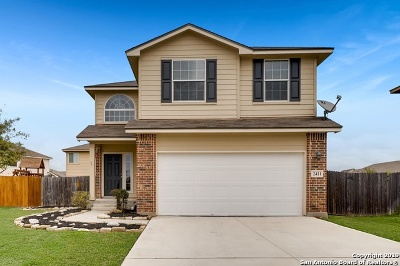 New Braunfels Single Family Home New: 2411 Chad St