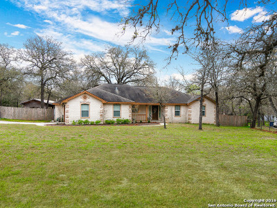 La Vernia Single Family Home New: 581 Rose Branch Dr