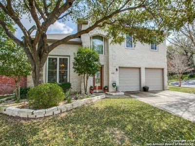 San Antonio Single Family Home New: 11506 Fair Cove