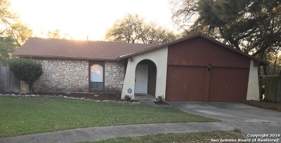 Leon Valley Single Family Home New: 6727 Strawberry Park