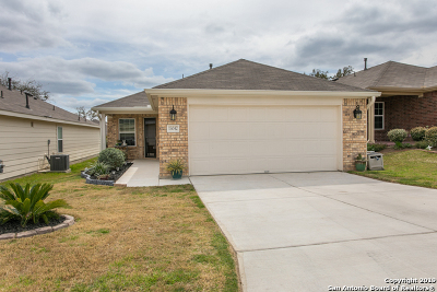 Bexar County Single Family Home New: 13042 Cache Creek