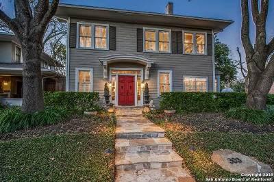 San Antonio Single Family Home Active Option: 303 W Gramercy Pl