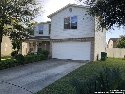 San Antonio Single Family Home New: 10019 Fisherman Pier