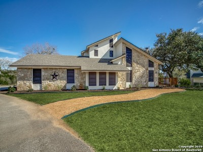 Boerne Single Family Home Price Change: 115 Lake View Dr