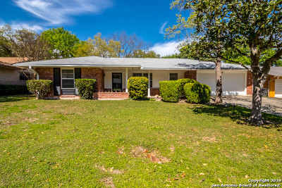 San Antonio Single Family Home Active Option: 3611 Ticonderoga Dr