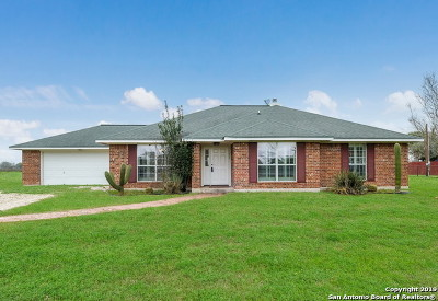Cibolo Single Family Home New: 172 Green Meadow Dr