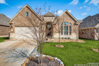 Cibolo Single Family Home New: 512 Albarella