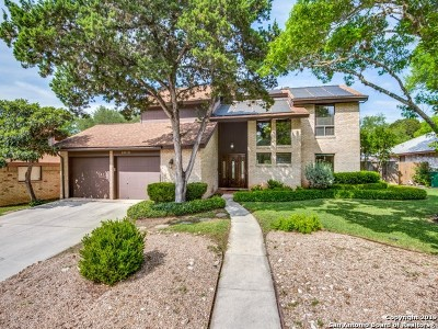 San Antonio Single Family Home Price Change: 2815 Quail Oak St