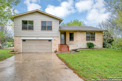 Seguin Single Family Home New: 165 Rio Grande Dr