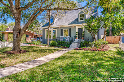Alamo Heights Single Family Home New: 414 Alamo Heights Boulevard