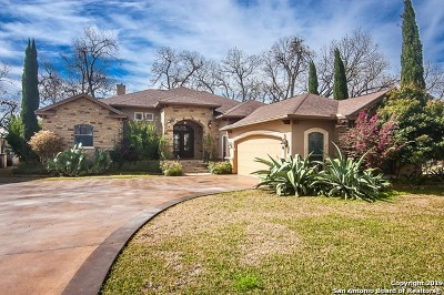 Seguin Single Family Home New: 160 Paseo Del Rio