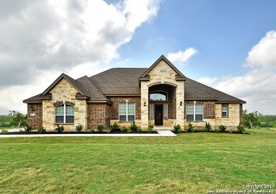 Castroville Single Family Home New: 199 Roundtop Hill