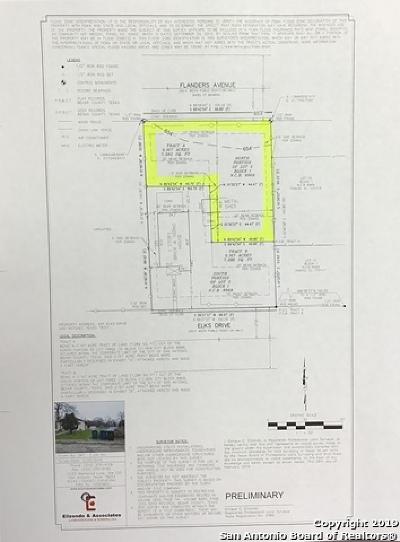 San Antonio Residential Lots & Land New: 1546 Flanders Ave