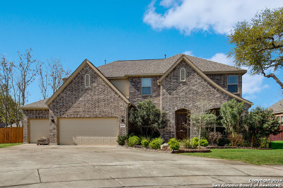 Schertz Single Family Home New: 10401 Bowies Knoll