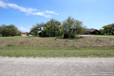 New Braunfels Residential Lots & Land New: 1922 Hunters Cove