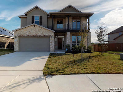 Cibolo Single Family Home New: 604 Saddle Nest
